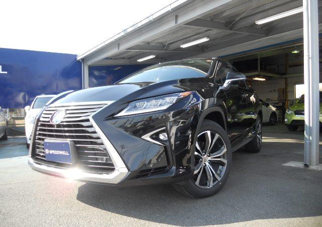 新車 レクサス RX450h VersionL納車