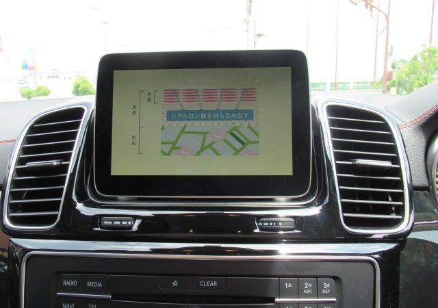 メルセデス・ベンツ GLEクーペ(W166) TVキャンセラー取付!
