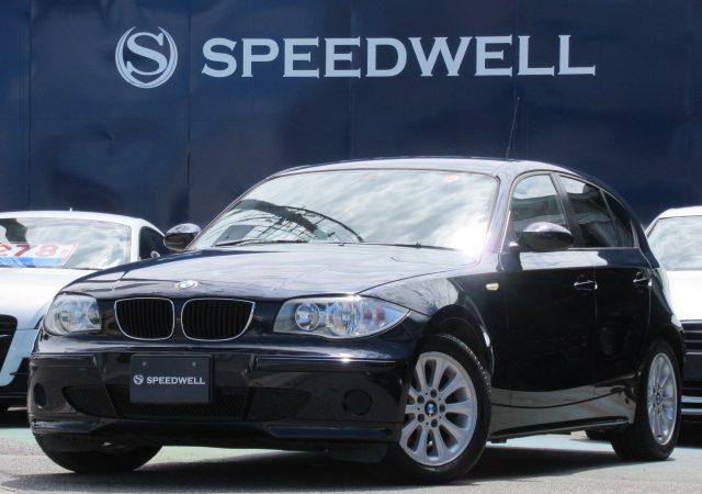 2006年式 BMW 1シリーズ入庫情報!