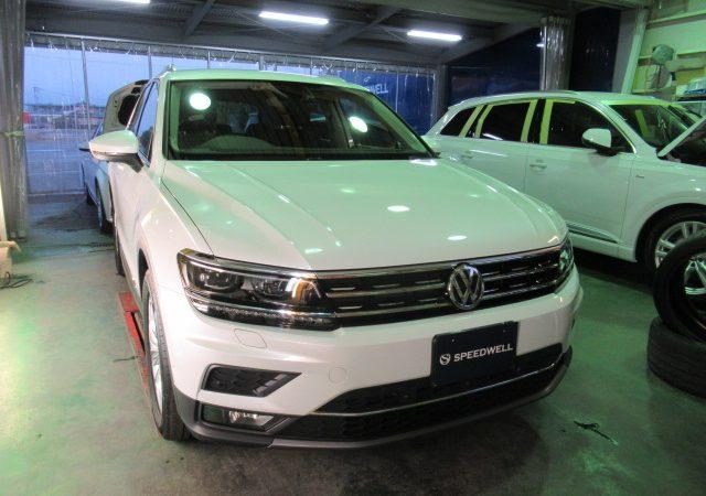 VW ティグアン エシュロン NANO-FILコーティング施工