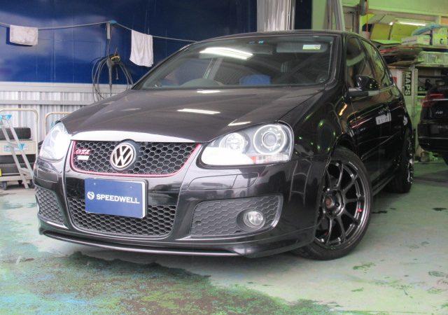 VW ゴルフ GTI ピレリ ホイール交換