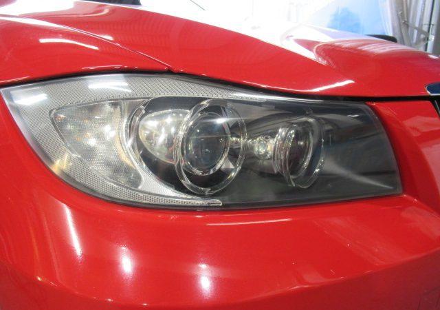 BMW 325i ヘッドライト研磨&コーティング施工