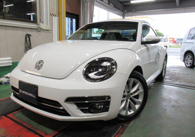 VW ザ・ビートル バックカメラ&ドライブレコーダー 取り付け ボディーコーティング施工