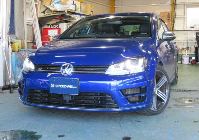 VW ゴルフ 7 R Race Chip取付・ウィンカーミラー交換・ コーディング施工