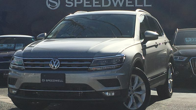 VW ティグアン ドライブレコーダー取付け&ボディーコーティング施工