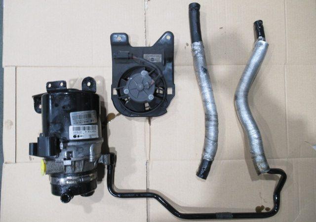 BMW MINI(R53) パワステポンプモーター パワステホース 電動ファン交換