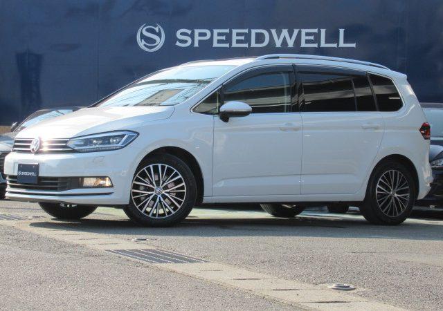 2016年式 VW ゴルフトゥーラン 入庫情報!