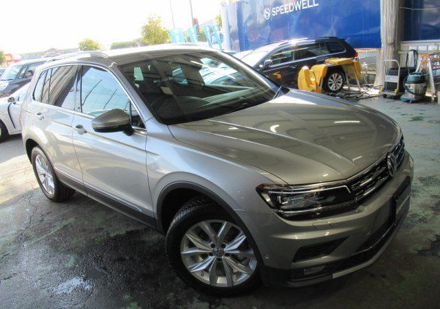 VW ティグアン 各種取り付け施工&ボディーコーティング施工