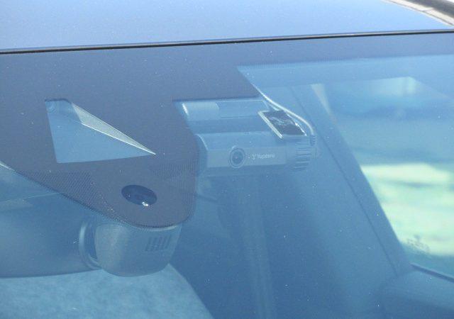 アウディ A7(4K) 2カメラタイプドラレコ レーダー取り付け