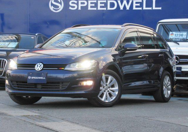2015年式 VW ゴルフヴァリアント 納車情報!