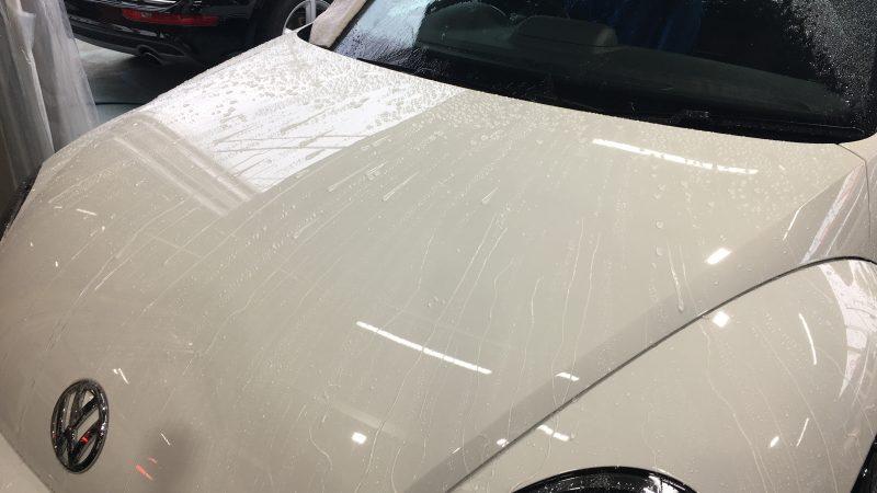 VW ザ・ビートル ボディーメンテナンス施工