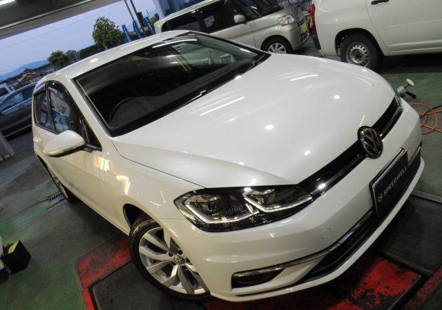 VW ゴルフ 鉄粉除去&ボディー研磨・コーティング再施工