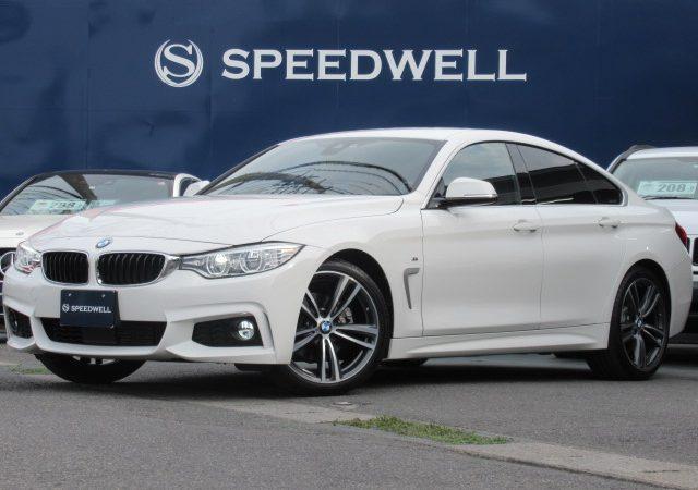 2016年式 BMW 4シリーズ グランクーペ 入庫情報!
