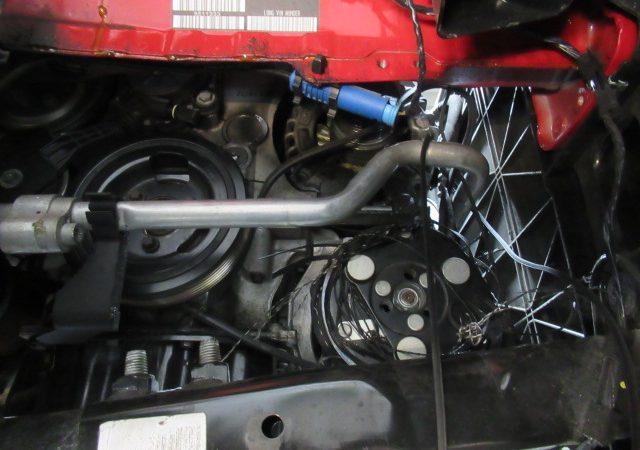 BMW MINI(R56) ファンベルト ベルトテンショナー交換