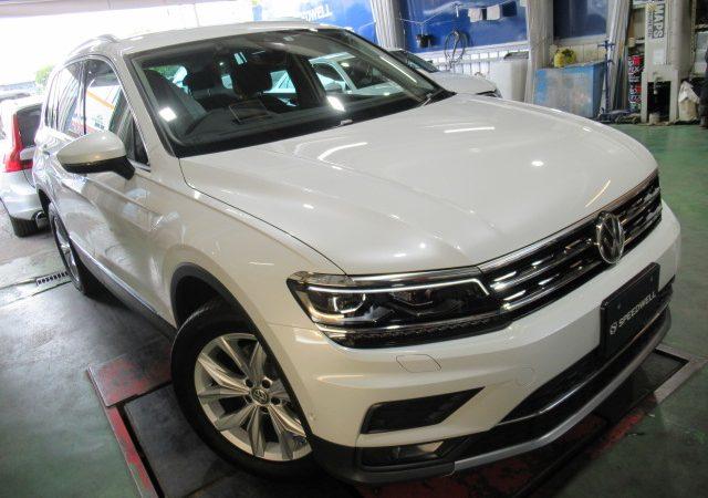 VW ティグアン 各種研磨&ボディーコーティング施工