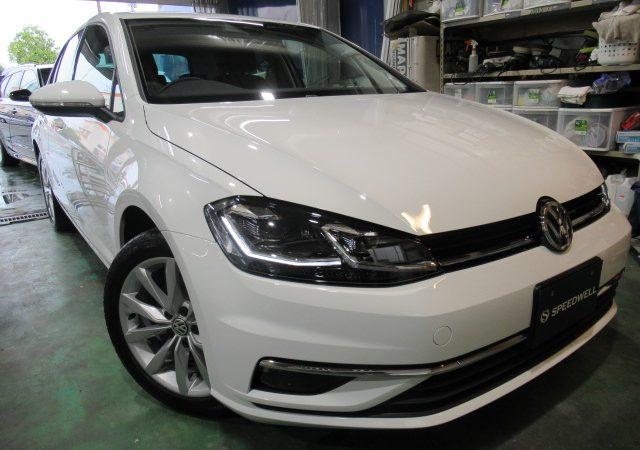 VW ゴルフ ダイヤモンドメイクワンダーボディーコーティング施工
