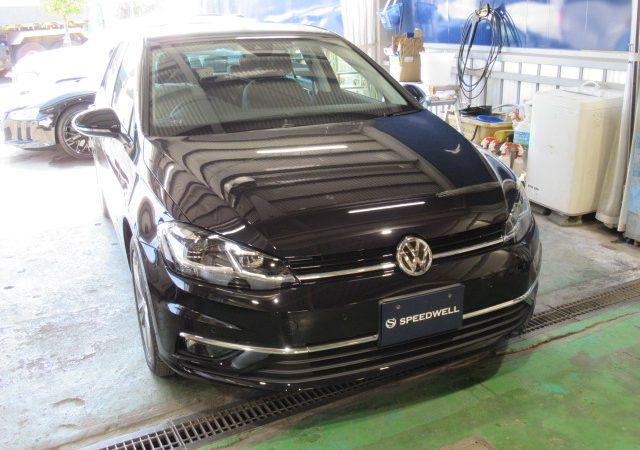 VW ゴルフ 7 ボディーコーティング施工