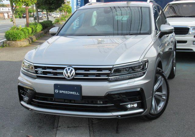 VW ティグアン Ⅱ AD ボディーコーティング施工