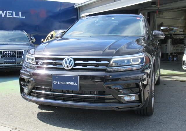 VW ティグアン Ⅱ AD コーディング1項目施工