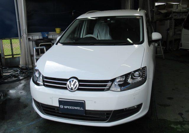 VW シャラン リアモニター取付
