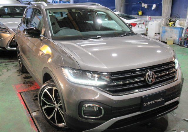 VW T-CROSS エシュロンNANO-FILボディーコーティング施工