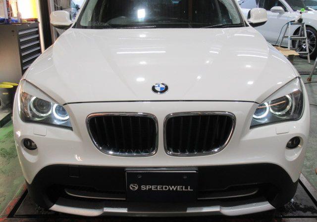 BMW X1(E84) スモールランプLED交換