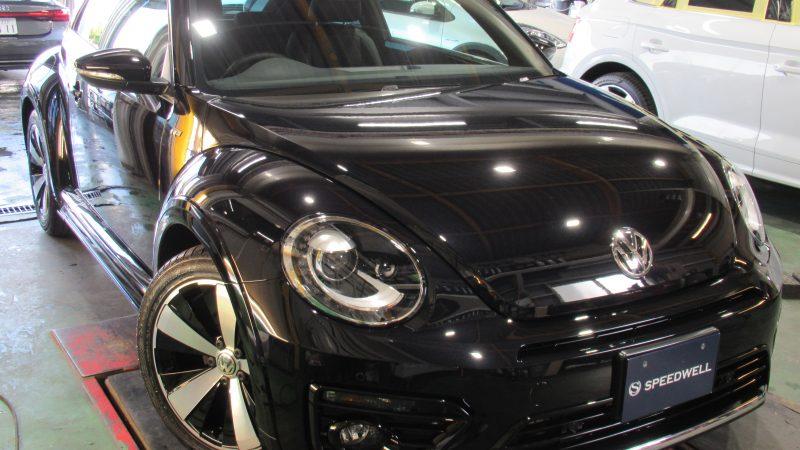 VW ザ・ビートル エシュロンNANO-FILボディーコーティング施工