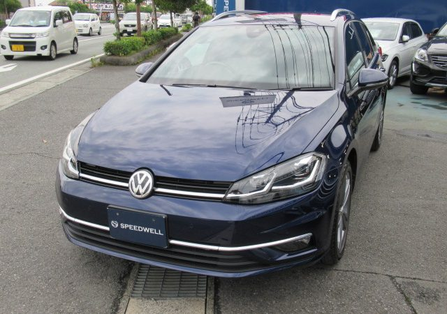 VW ゴルフ ヴァリアント7.5 ボディーコーティング施工