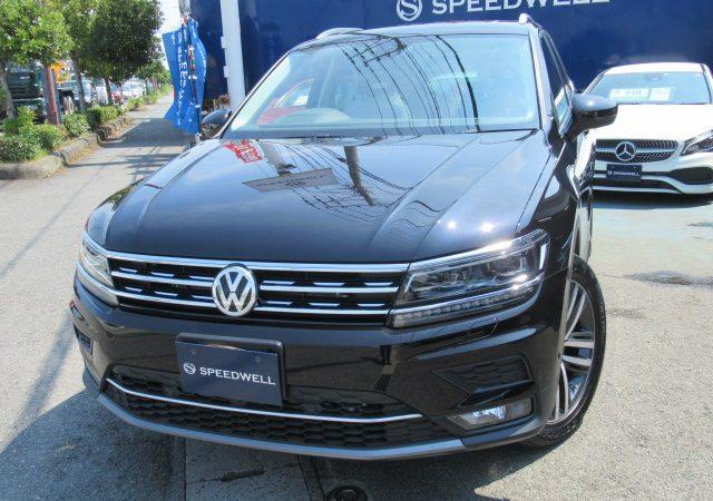 VW ティグアン ⅡAD ボディーコーティング施工