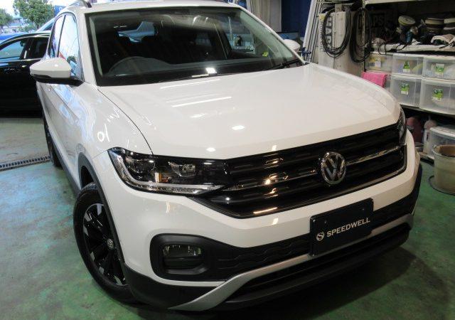 VW T-CROSS ボディーコーティング施工