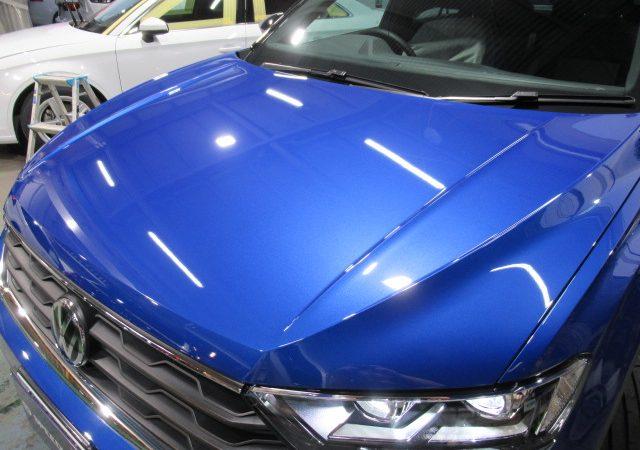 VW T-ROC エシュロンNANO-FILボディーコーティング施工
