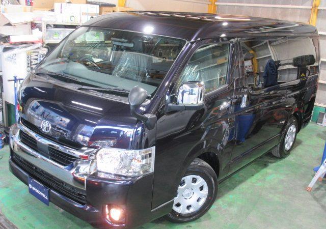 トヨタ ハイエース ワイドボディー 各種コーティング施工