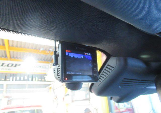 AMG GLC43(X253) 全周囲360度、リア2カメラタイプドライブレコーダー取り付け