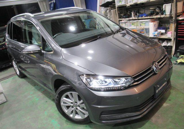 VW トゥーラン ドラレコ取り付け&ボディーコーティング施工