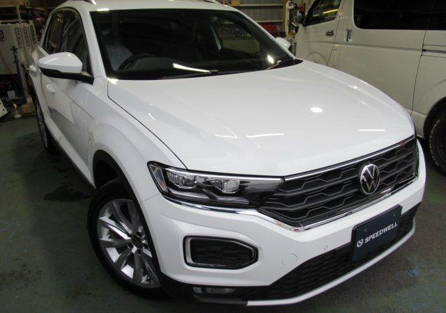 VW T-ROC ボディーコーティング施工