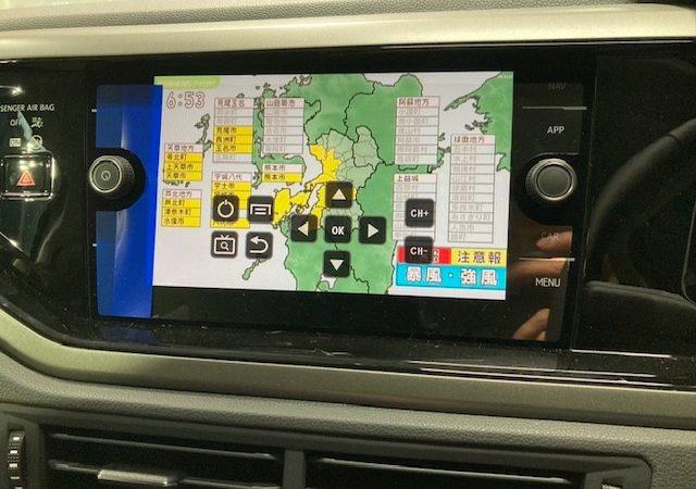 VW ポロ テレビ、DVD取り付け