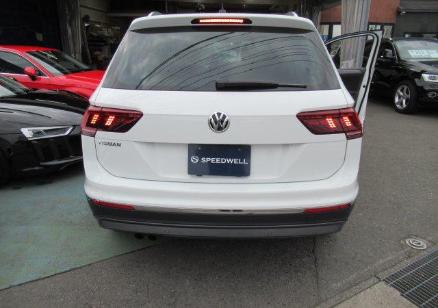 VW新型ティグアン コーディング 2項目施工