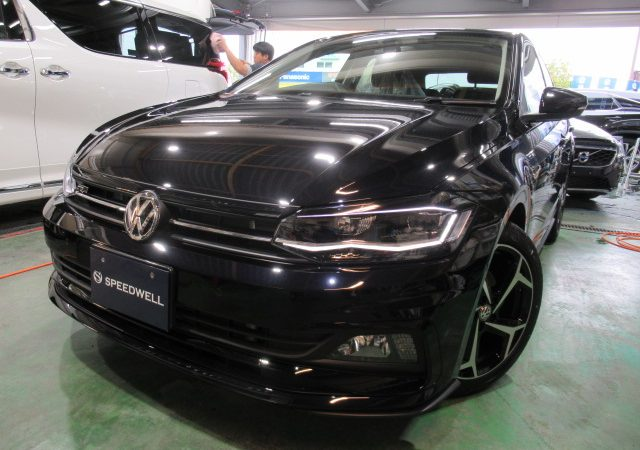 VW ポロ ダイヤモンドメイクワンダーボディーコーティング施工