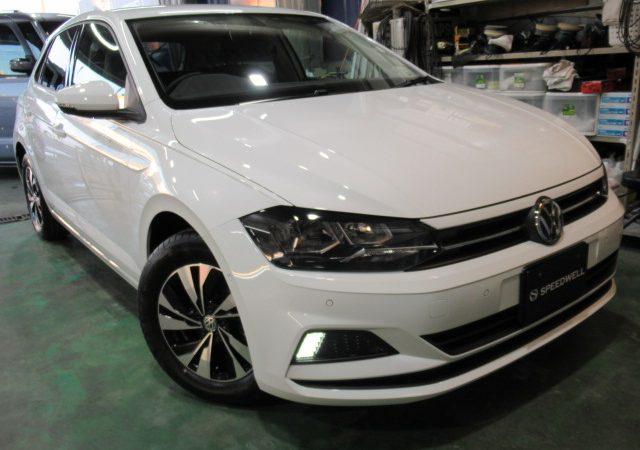 VW ポロ ボディーコーティング&ドラレコ取り付け施工