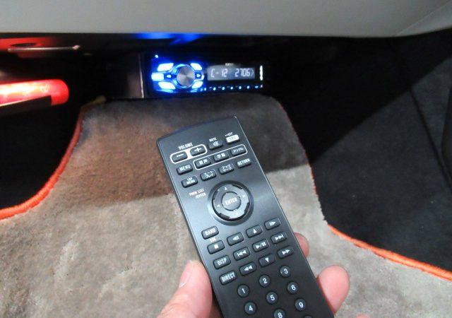 ボルボ V90 DVDプレーヤー追加取り付け