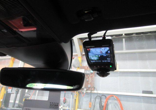 VW ポロ(AW) フロント360度、2カメラタイプドライブレコーダー、レーダー取り付け