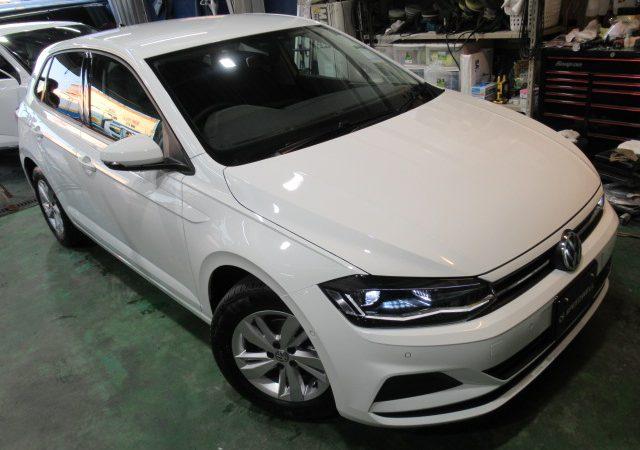 VW ポロ エシュロンNANO-FILボディーコーティング施工