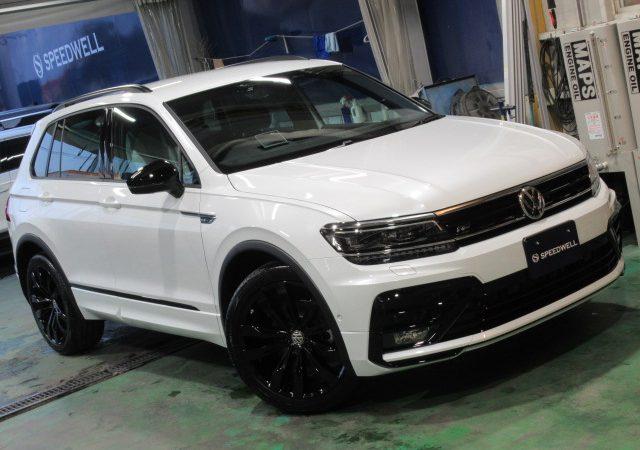 VW ティグアン ドラレコ取り付け&ボディーコーティング施工