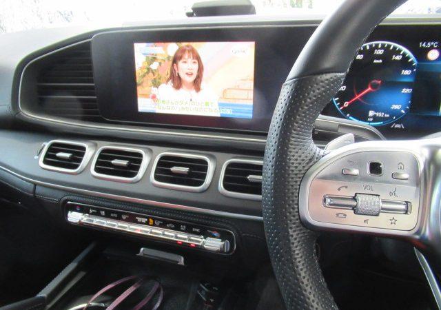 メルセデス・ベンツ GLE(W166) TVキャンセラー取り付け